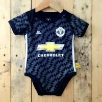 Jual Baju Bola Bayi, Jersey Bola Bayi , Jumper Bola Manchester United  Away Murah