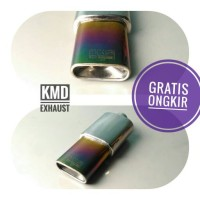 Jual Knalpot mobil racing vitara swift splash estilo HKS kotak rainbow mini Murah