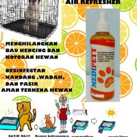 Medipety Air Refresher Lemon 250mL - penghilang bau