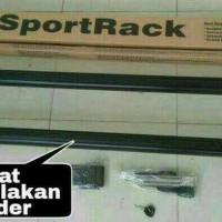 roof rack/sport rack mobil avanza/innova/mobilio/spin/livina