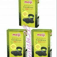 MEIJI COOKIES MACHA GREEN TEA FLAVORS JAPAN