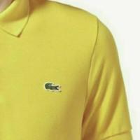 polo shirt LACOSTE kuning big size xxxl murah