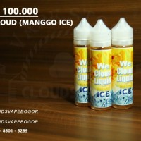 We cloud (manggo ice) / liquid vape