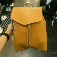 tas serut punggung zara basic backpack original