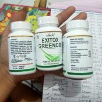 Jual Obat Pelangsing Badan Herbal Hendel Exitox Greenco Asli Original Murah