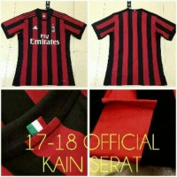 Jersey AC Milan Home GO 2017/2018 OFFICIAL
