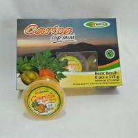Jual Manisan Carica Cup Mini 115 gram isi 6 cup Murah