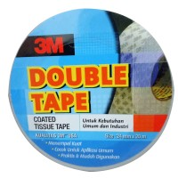 3M Double Tape Coated Tissue Tape