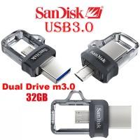Jual Sandisk Ultra Dual Drive m3.0 OTG 32gb Up to 150MB/s  Murah