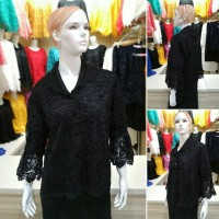 Kebaya Brokat Baju Atasan Wanita Brukat Prada Lace KL1111