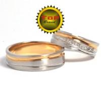 cincin kawin couple perak t2546