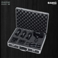 AKG Groove Pack (Mic Drum, 6 Piece, Perkusi, Miking Amp, Clamp, Pro)