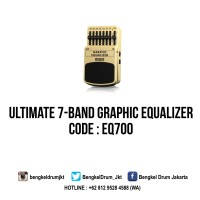 Behringer Guitar Stompboxes GRAPHIC EQUALIZER EQ700