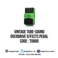 Behringer Guitar Stompboxes VINTAGE TUBE OVERDRIVE TO800