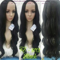Lace wig fashion bs cuci catok