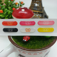 Silver Goldy Home Button Sticker 3D Samsung ( Note 2 - Mega - Grand )