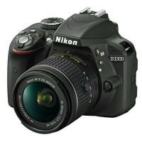 Kamera Dslr Nikon D-3300 wifi +Lensa VR II Kualitas Bagus