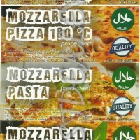Jual Keju Mozarella Stik, Pasta, Pizza, Vegetarian 200 Gr Murah
