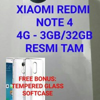 Jual XIAOMI REDMI NOTE 4 3GB/32GB (TAM) Murah