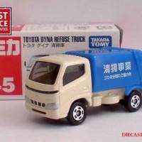 Diecast Truk Toyota Dyna Refuse Truck Merk Takara Tomy