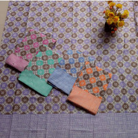 Batik Songket Pink Bk02 Bahan Katun Prima Halus