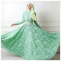 queen hijab green