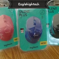 Jual Mouse Wireless Logitech M331 M 331 Silent Plus. Replace Logitech M280 Murah