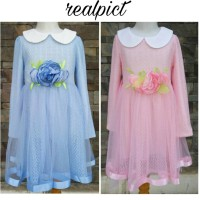 harga Baju Pesta Anak Import /dress Anak Brokat 6 - 10 Tahun Tokopedia.com