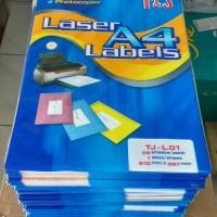 Laser Labels A4 T&J / Sticker Label A4 TJ-L.01