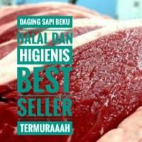 Jual daging sapi beku halal untuk rendang semur soto (Best Seller) Murah