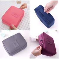 korea pouch serbaguna / Travel bag / pouch kosmetik