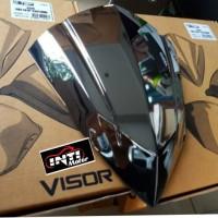 Jual Visor Vario 125 atau 150 LED BLACK chrome TGP, harga grosir Murah