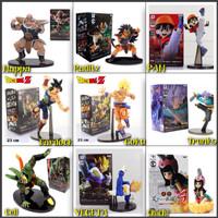 Figure Dragonball Scultures Goku VEGETA Nappa Raditz Cell Bardock