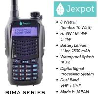Jual Ht Jexpot (JAPAN + 8 Watt) Bukan Ht Alinco, Baofeng, Icom, Pxton, Vev Murah