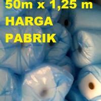 Jual GROSIR PLASTIK BUBBLE WRAP WARP 50 1 1,25 METER HEMAT MURAH GUDANG Murah