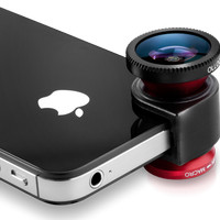 Jual camera lensa 3 in 1 lens for iphone,fisheye+wide angle+macro lens Murah