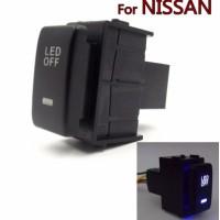 Jual DRL Fog lampu Switch Panel NISSAN juke xtrail livina Tombol LED Murah