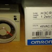 OMRON ANALOG TIMER H3CR-A 48VAC/DC