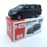 Miniatur Mobil Nissan Elgrand Cokelat Metalic Tomica 88