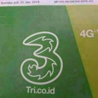 Harga promo kartu perdana three 3 paket data internet | Pembandingharga.com