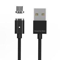 Jual WSKEN X-cable Mini 2 Magnetic Charging for MicroUSB - BLACK Murah