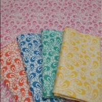 Batik Sablon Bk75c Bahan Katun Prima Halus Batik Kajang Bagus Keren