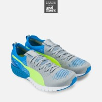 ORIGINAL Puma IGNITE Dual Proknit Running Shoes Electric Blue Yellow