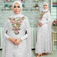 baju busana muslim terbaru kaftan syahrini gamis modern pakaian wanita