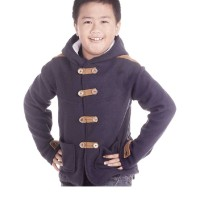 Jaket Anak Laki-Laki Cbrsix Ikc 808 M-L Fleece Warna Navy