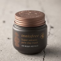 Jual Masker Innisfree Jeju Super volcanic pore clay mask 100ml Murah