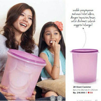 Tupperware Giant Canister Toples Murah