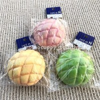 melon pan bread Squishy by Cafe De N (Squishy Roti Melon Jepang Slow)