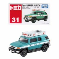 Tomica Reguler 31 Toyota FJ Cruiser Police Car