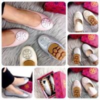 TORY BURCH Jasmine Ballerina |Sepatu Wanita Cantik|Sepatu Import Murah
